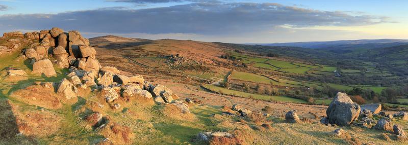 Bell Tor Vista - Dartmoor Landscapes Prints