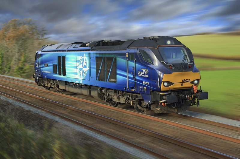 Class 68 024 - Latest Railway Prints