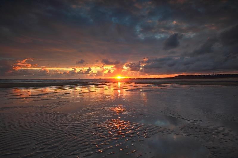 Ogmore Sunset - Latest Landscape Prints
