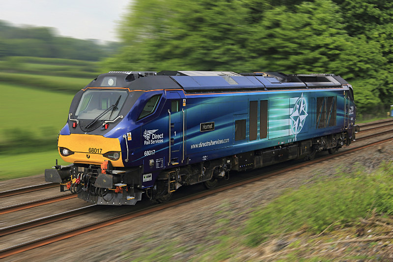 Class 68 017 - Railway Artwork Prints