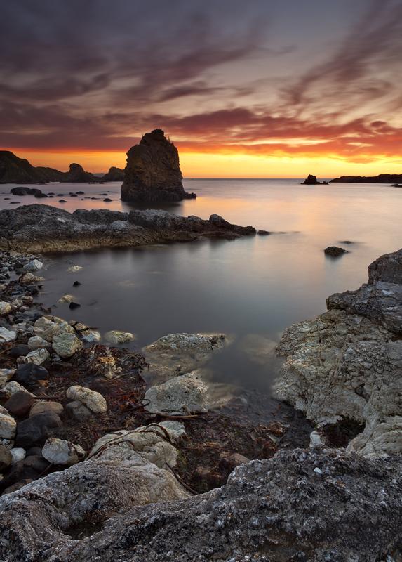 Ballintoy Sunset - Co Antrim