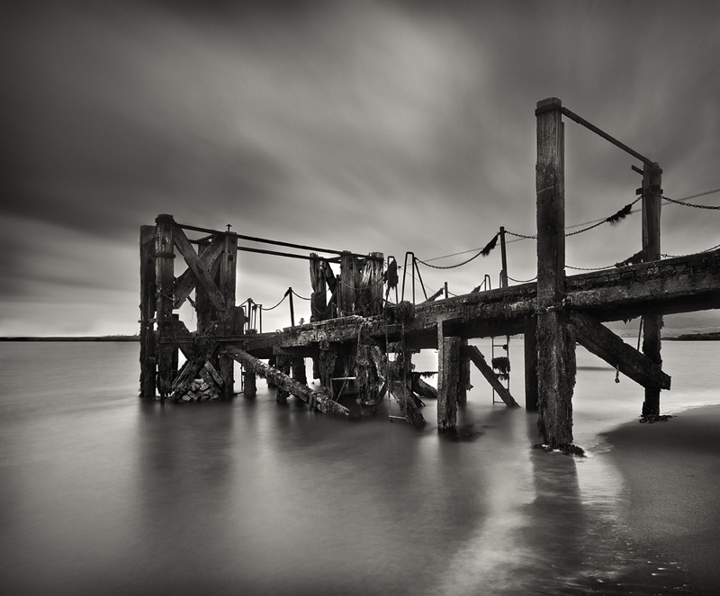 Greencastle Jetty - Black & White