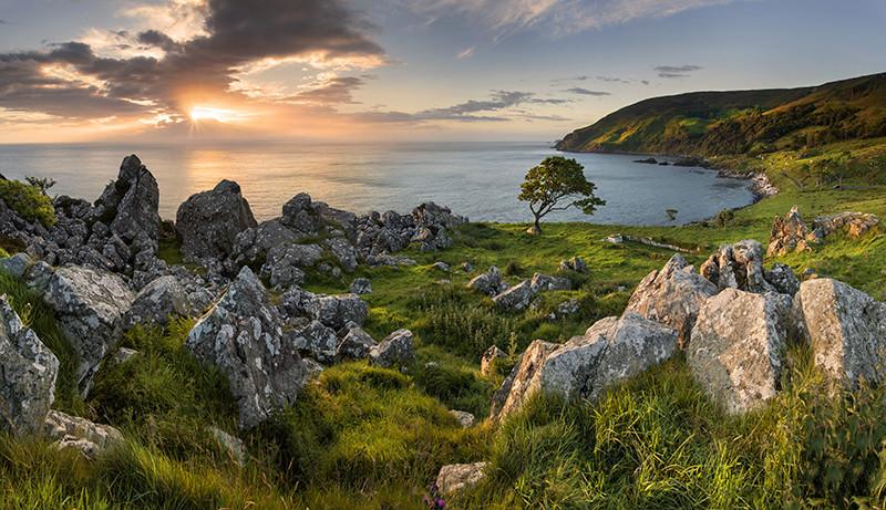 Sunrise at Murlough Bay - Co Antrim