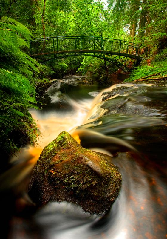 Rainbow Bridge Glenariff - Co Antrim