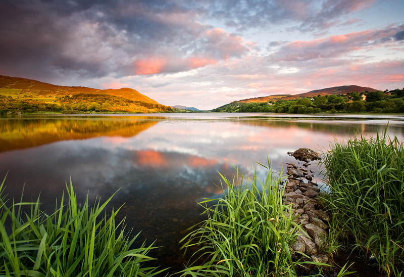 Camlough Lake Evening - Co Armagh