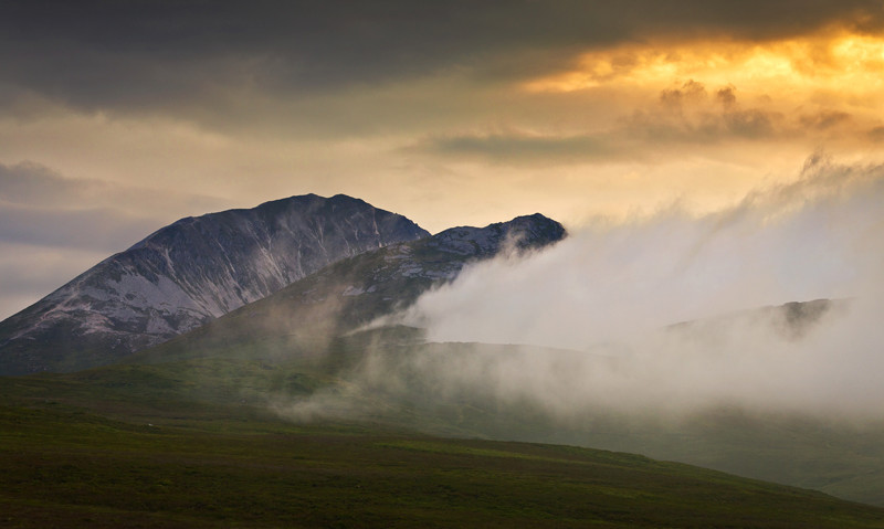 The Misty Mountain - Co Donegal