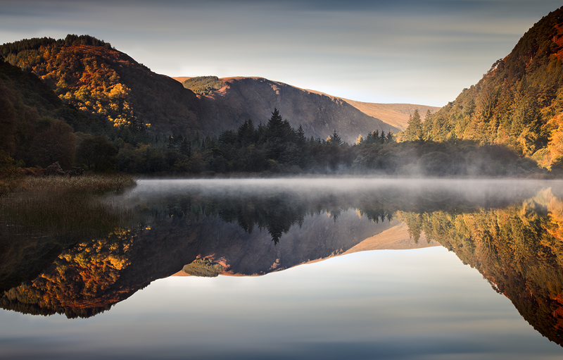 Mist On The Lower Lake - Co Wicklow