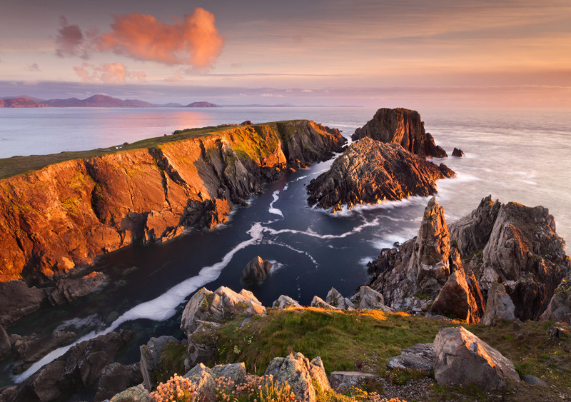 Last light at Malin Head - Co Donegal