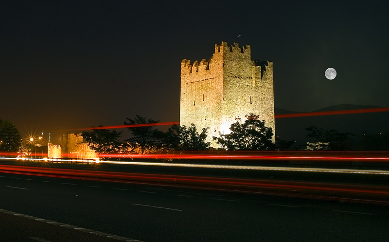 The Keep at Night - Co Down