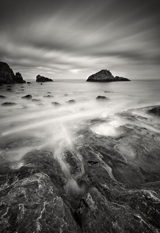 Murlough Bay - Black & White