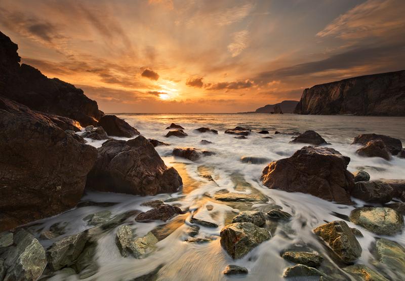 Ashleam Bay Sunset - Co Mayo
