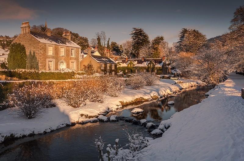 The Fairy Glen in Winter - Co Down
