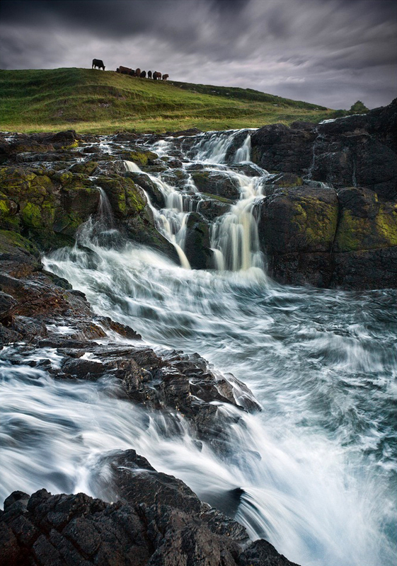 Dunseverick Coastal Falls - Co Antrim