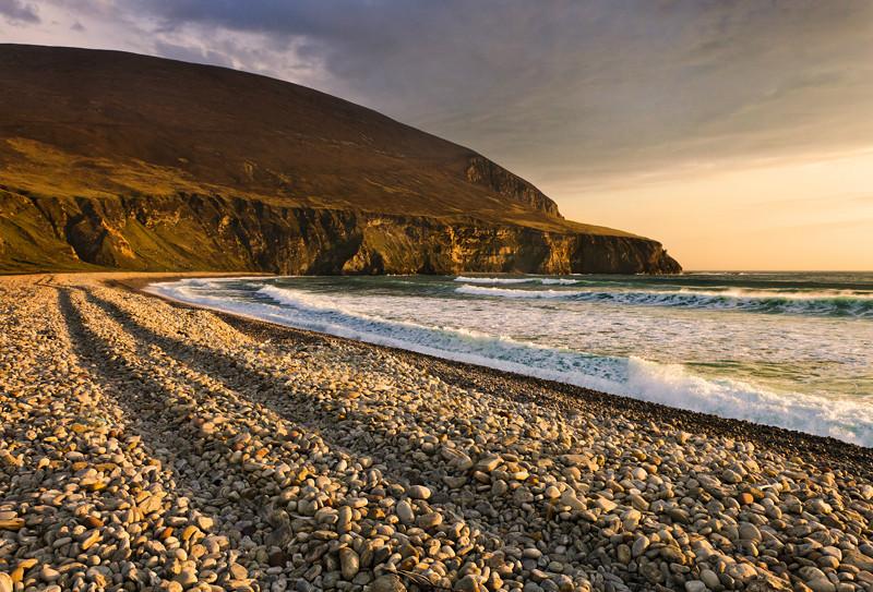 keel Strand Evening - Co Mayo