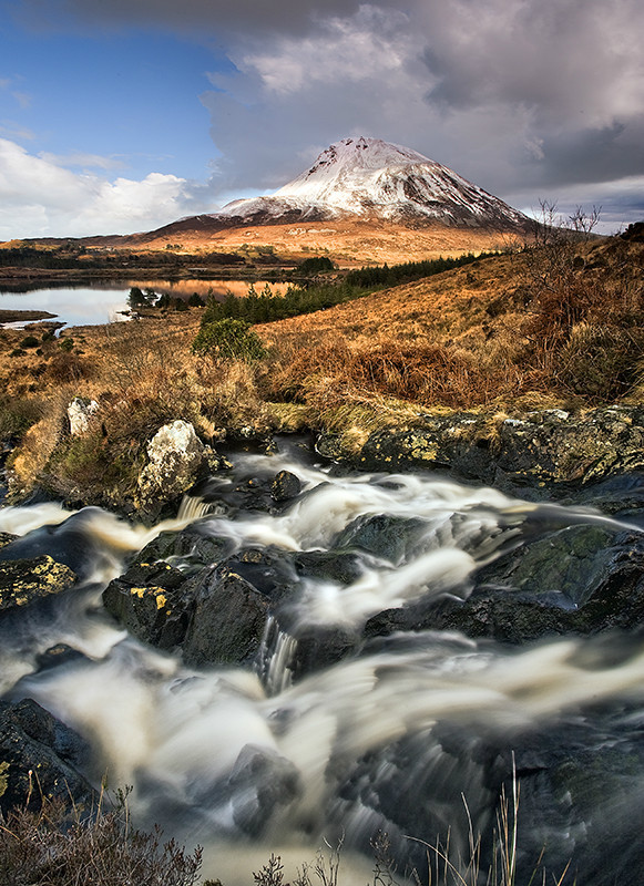 Snow Capped Errigal - Co Donegal