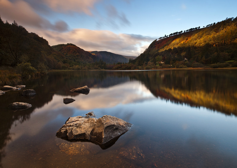 Lower Lake Morning - Co Wicklow