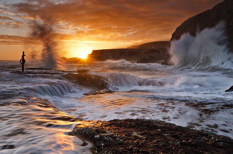 Sunrise at Ballintoy - Co Antrim
