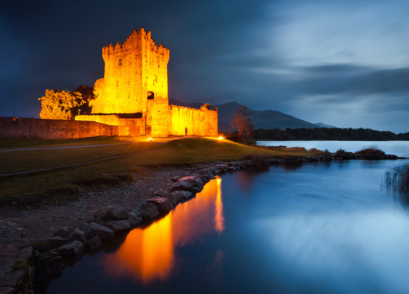 Ross Castle at Night - Co Kerry