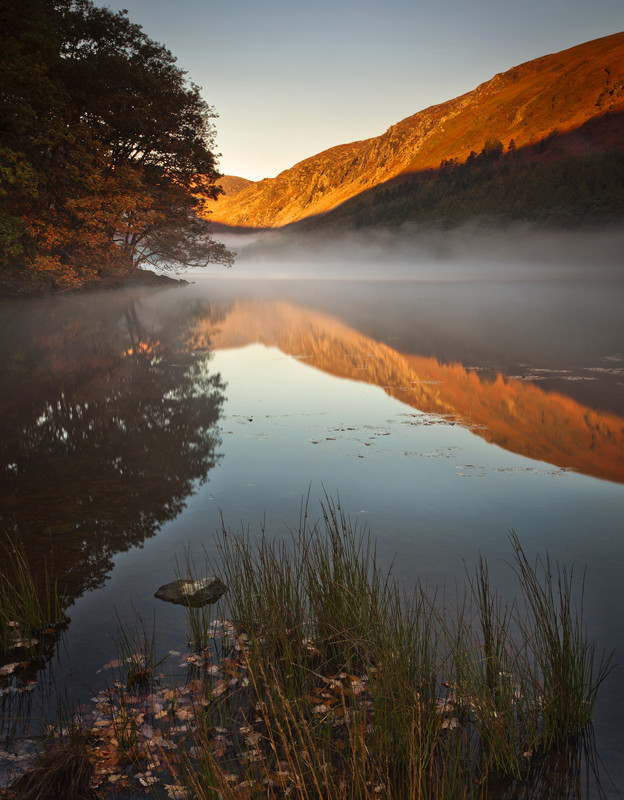 Misty Upper Lake - Co Wicklow
