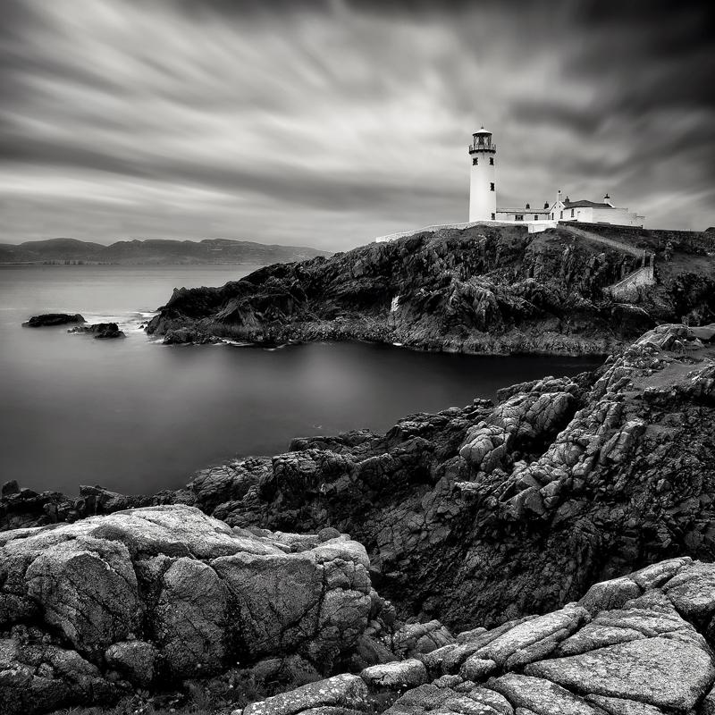 Fanad Lighthouse - Black & White