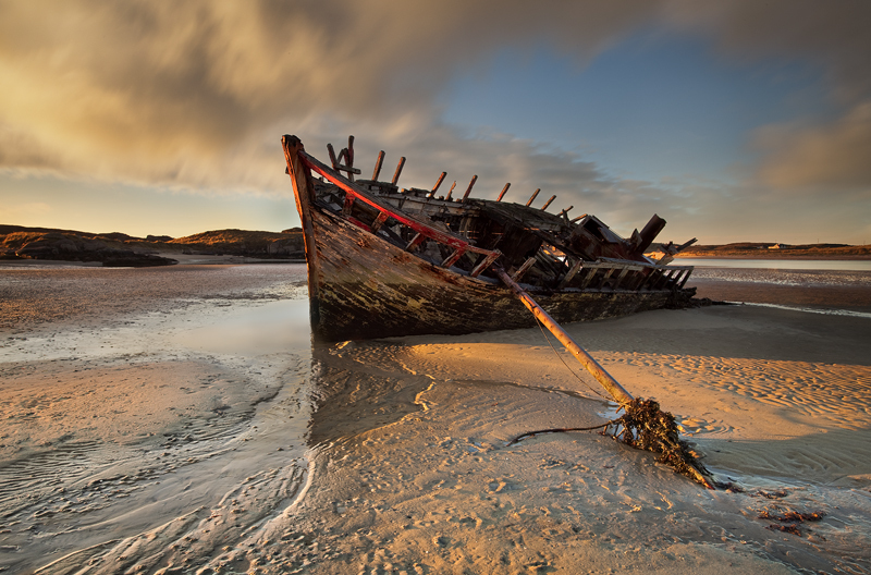 Eddies Boat - Co Donegal