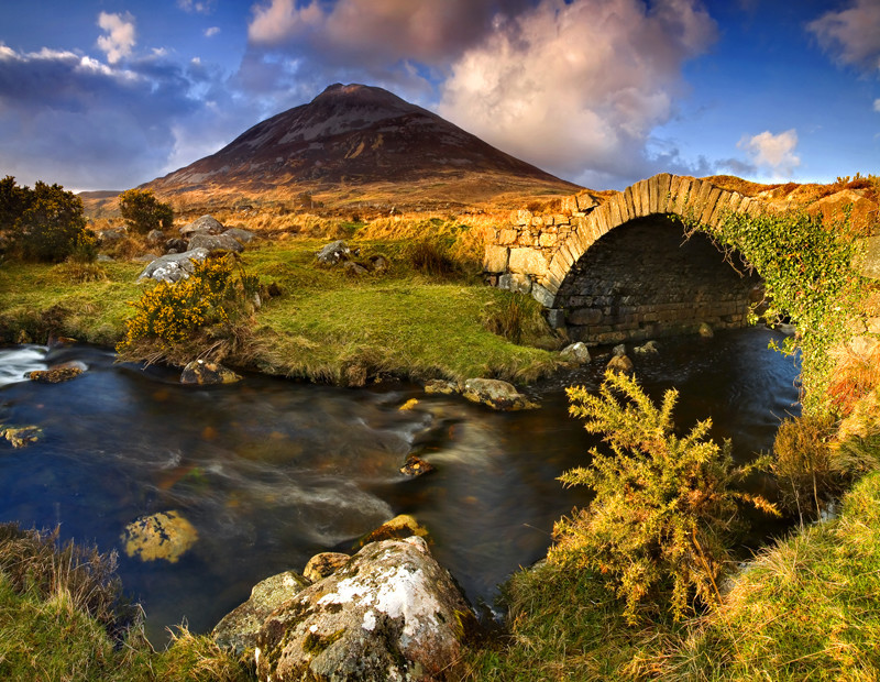 In the Shadow of Errigal - Co Donegal