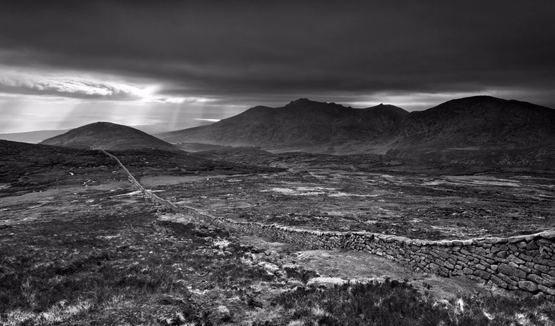 Mourne Mood - Black & White