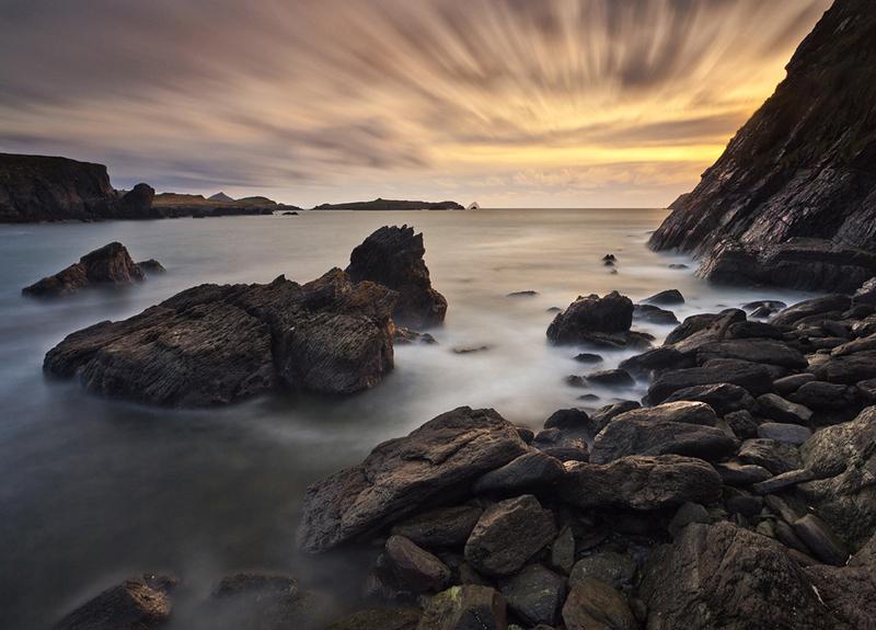 Valentia Island Sunset - Co Kerry