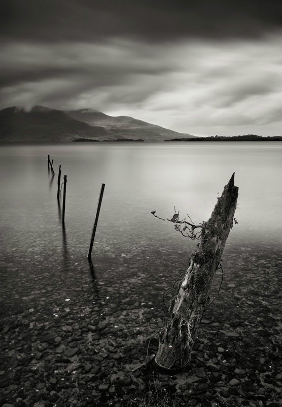 Lough Leane II - Black & White