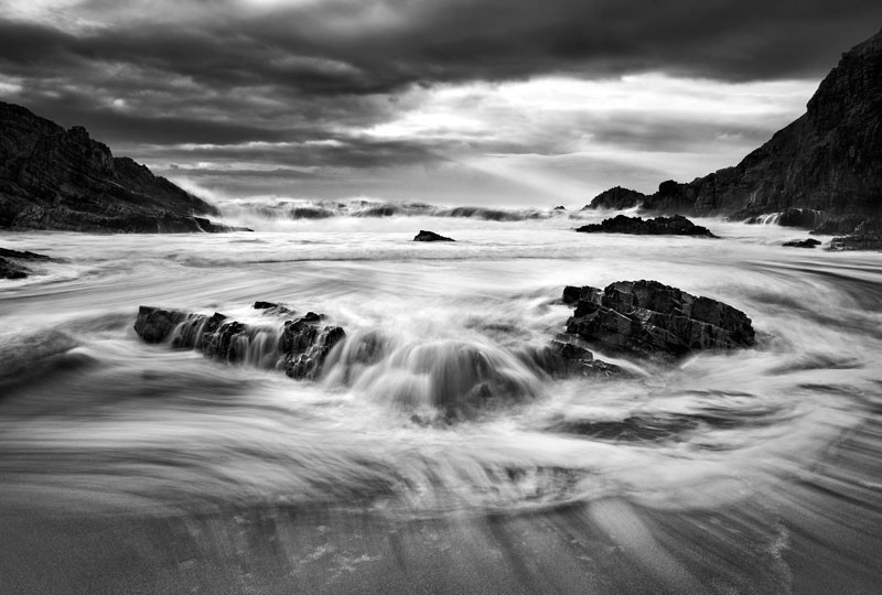 Rushing Waves - Co Donegal