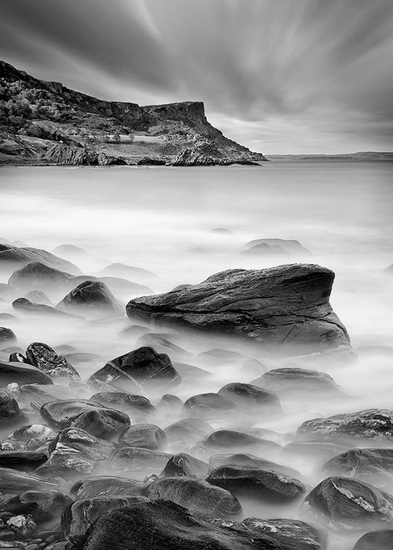 Murlough Bay - Black & White