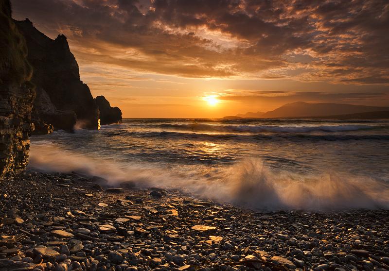 keel Strand at Sunset - Co Mayo