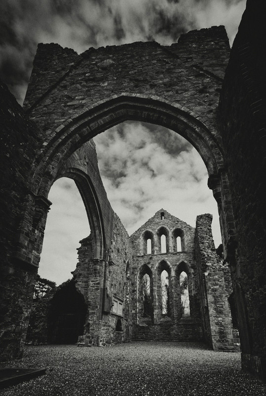 Grey Abbey - Black & White
