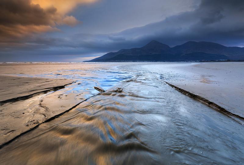 Murlough Bay Sunset - Co Down
