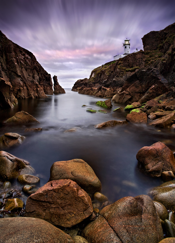 Fanad Lighthouse at Twilight - Co Donegal