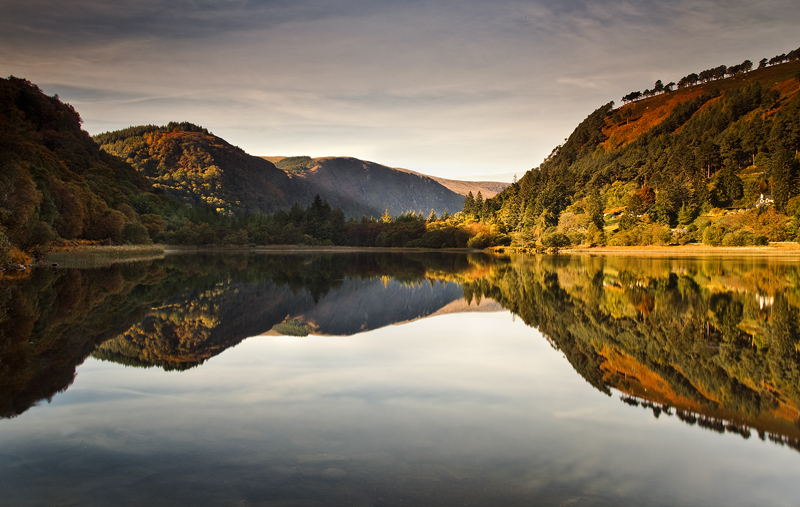 Lower Lake Reflections - Co Wicklow