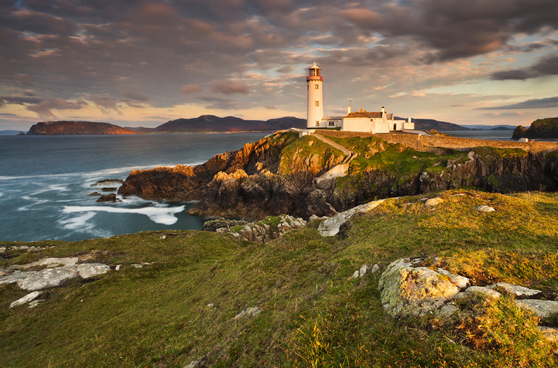 Last light at Fanad Lighthouse - Co Donegal
