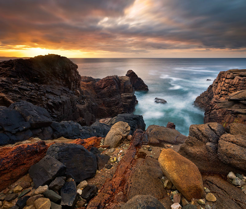 Colours of Bloody Foreland - Co Donegal