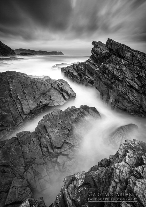 Atlantic Drive - Black & White