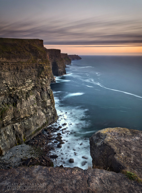Cliffs Of Moher Twilight - Co Clare