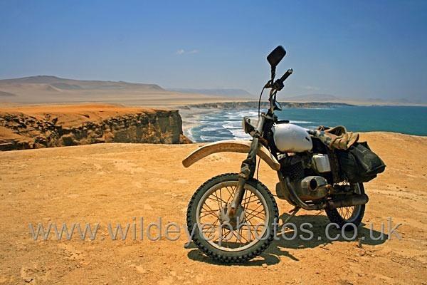 Desert Bike - Landscape & Life