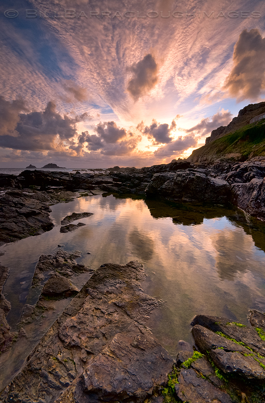 Rock Pool - Landscapes in colour