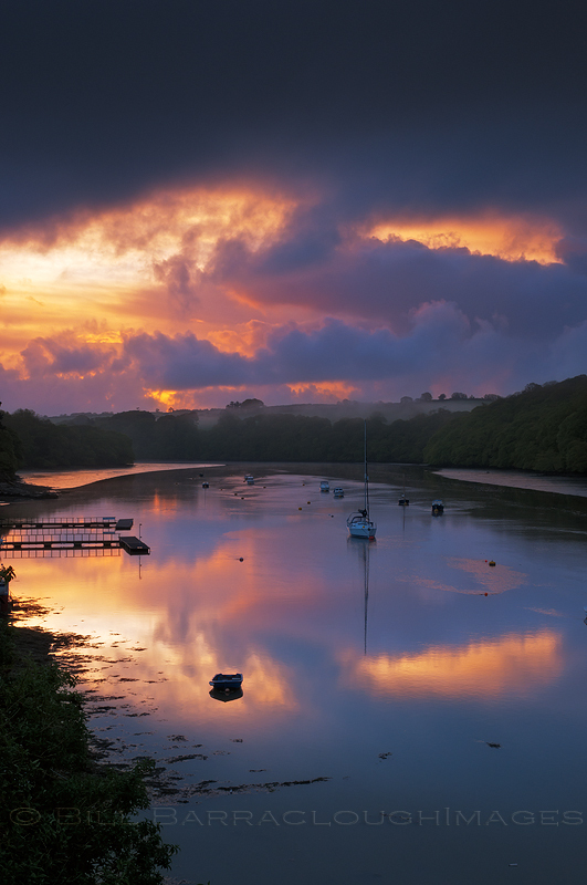 Tesillian Dawn - Landscapes in colour