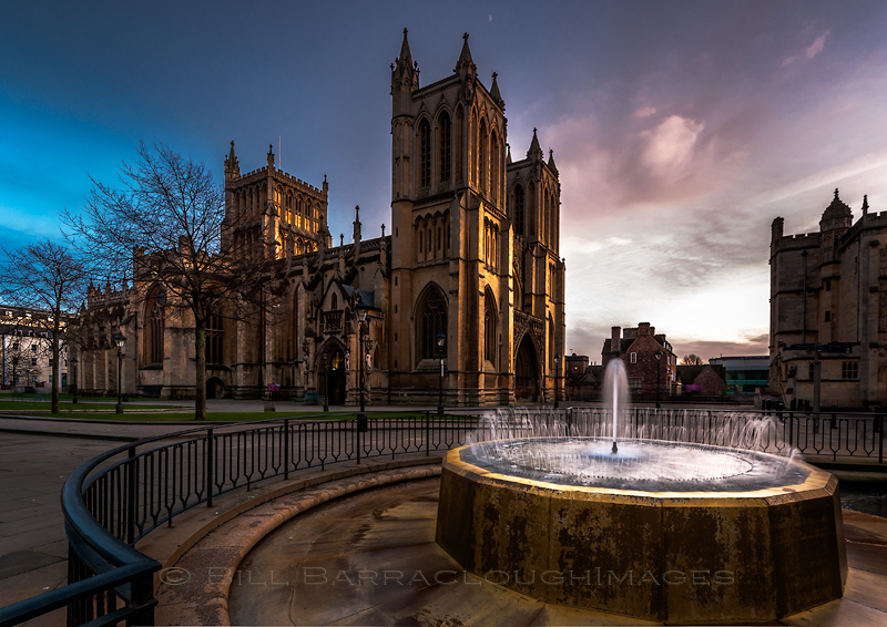 Bristol Cathedral - Landscapes in colour