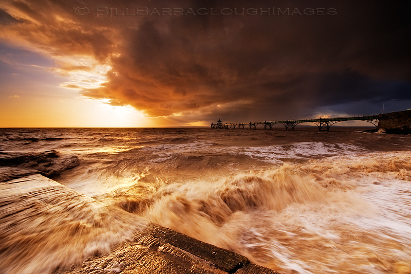 Clearing Storm - Landscapes in colour