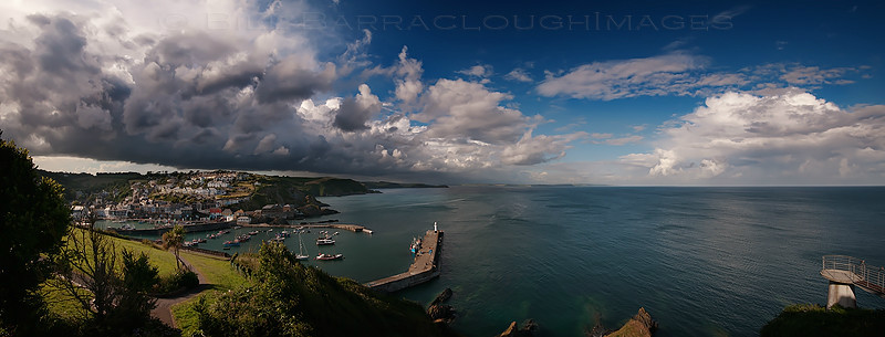 Mevagissey Afternoon - Panoramic images