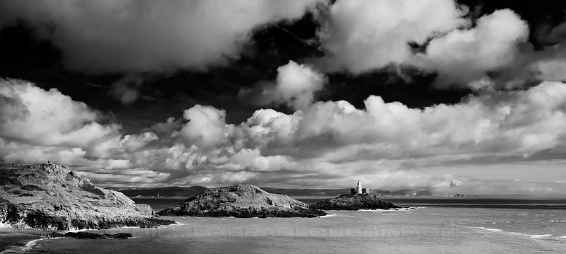 The Mumbles Panorama - Landscapes in monochrome