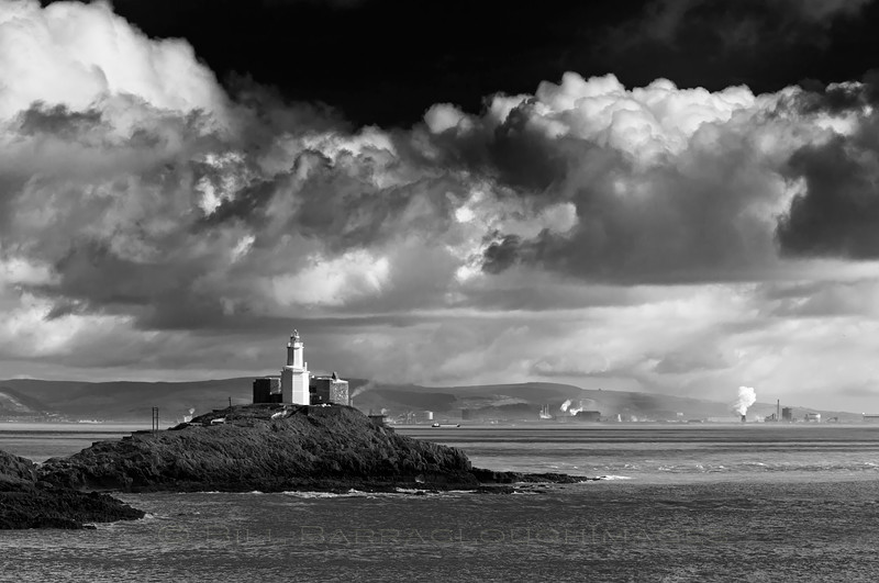 Mumbles Cloudscape - Landscapes in monochrome