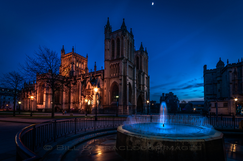 Cathedral Dusk - Landscapes in colour