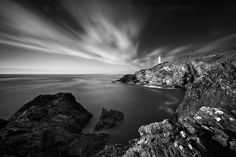 Lighthouse - Landscapes in monochrome